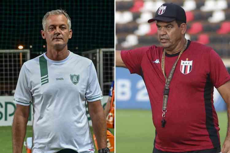 (Foto: Montagem com imagens de Mourão Panda/América e Divulgação/Botafogo-SP)