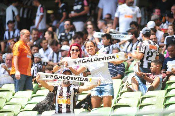 Galo e Colorado jogaram neste domingo, no Horto